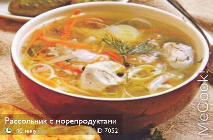 рецепт супа рассольника в мультиварке