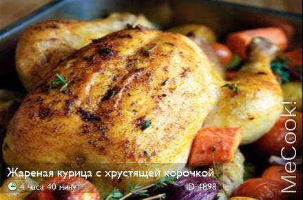 как жарить курицу с корочкой фото